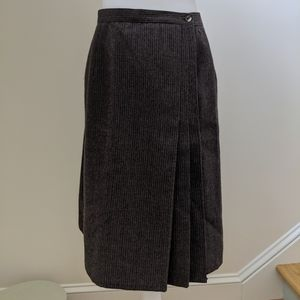 Harve Benard Wool Skirt